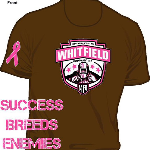 WHITFIELD MFG BREAST CANCER AWARENESS