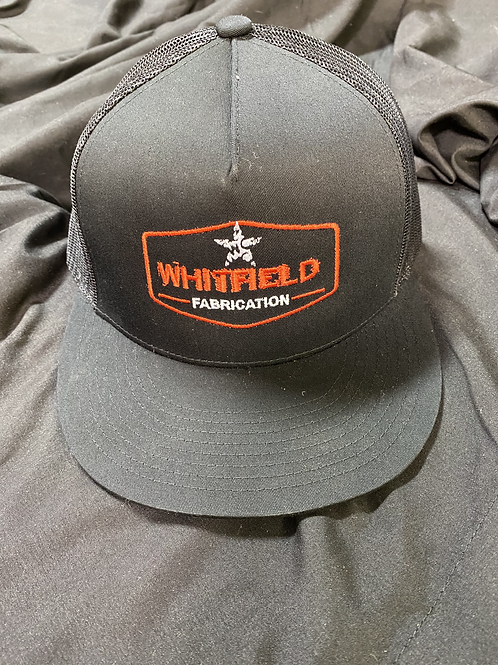 WHITFIELD BLK/ORNG SNAPBACK HAT