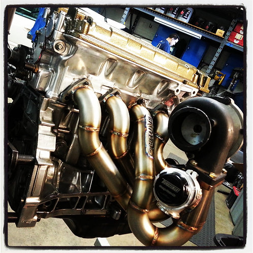 B Series Top Mount Turbo Manifold