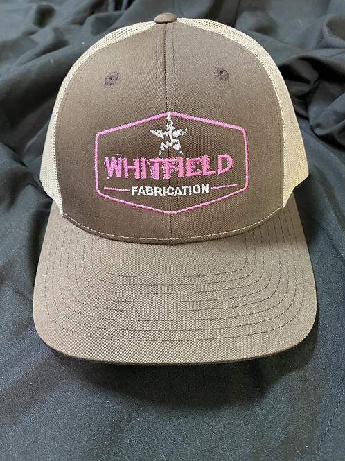 WHITFIELD BRWN/PNK SNAPBACK HAT