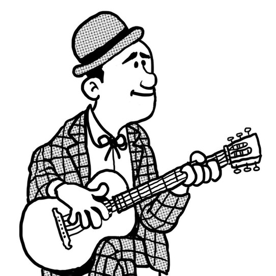 David Donar, blues musician, artist and professor