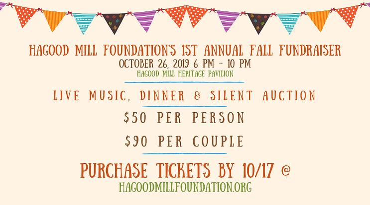 Hagood Mill Foundation Fundraiser Cover