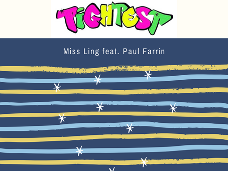 """Paul Farrin doubles down on the wild party energy with """"Tightest (feat. Miss Ling)""""."""