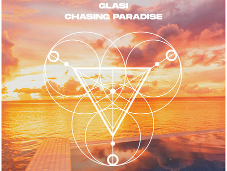 """Glasi embraces a trance pop tropical cadence with """"Chasing Paradise""""."""