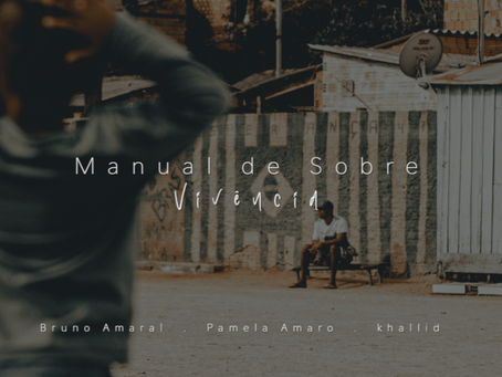 """Bruno Amaral delivers something that has such gorgeousness behind it. """"Manual de sobrevivência"""""""