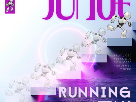"""Junoe wastes no time in getting the party started on the powerful rush of """"Running Away""""."""