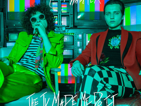 """Moon Walker embraces an acid-fried weirdness on the retro stylings of """"The TV Made Me Do It""""."""
