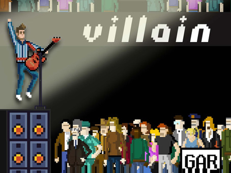 """Garvie brings out the best of dance rock with the pure anthemic bliss of """"Villain""""."""