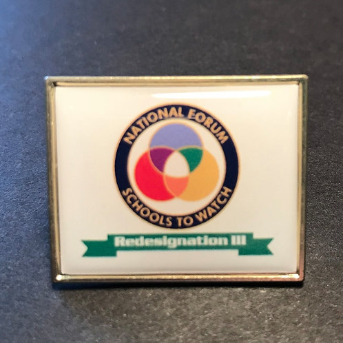 Schools to Watch Redesignation III Pin