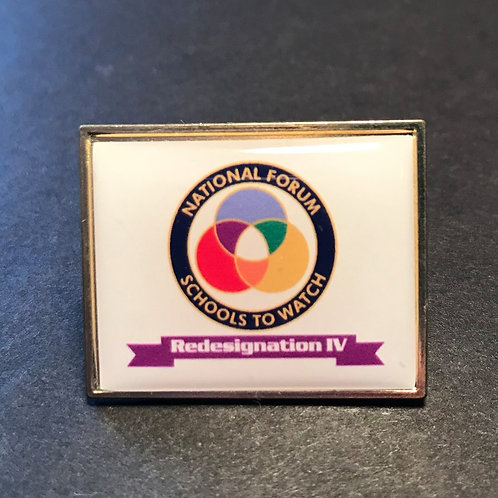 Schools to Watch Redesignation IV Pin