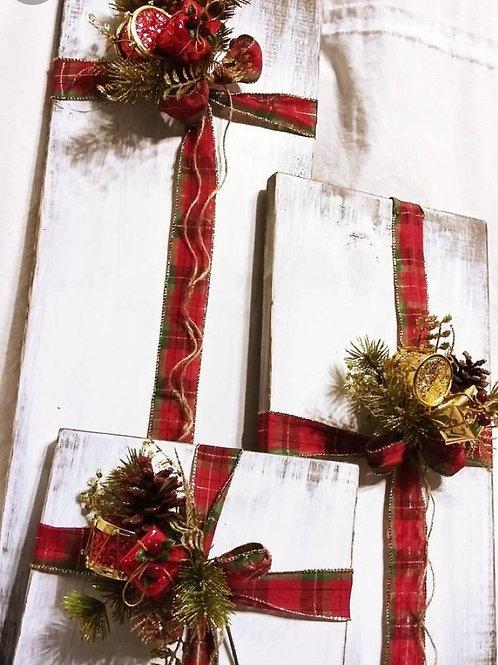 Gift package blocks  (set of 3)