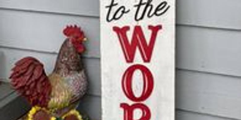 3D Porch signs!