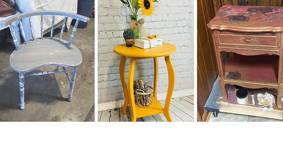 BYOP (Bring your own piece) Furniture Paint Class