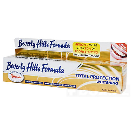 Beverly Hills Total Protection Whitening Toothpaste 125ml