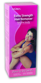 Andrea Extra Strength Hair Removal Body