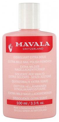 Mavala Nail Polish Remover(Acetone Free) - 100ml