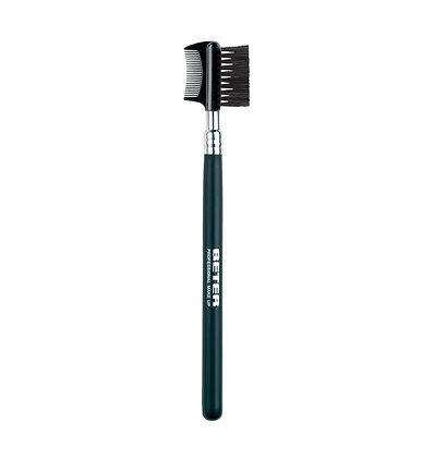 Eyebrow/lash comb and brush