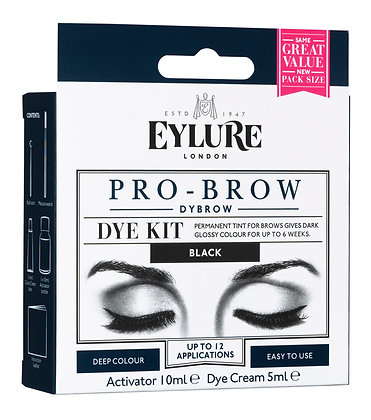 Eylure Dybrow Black Dye Kit