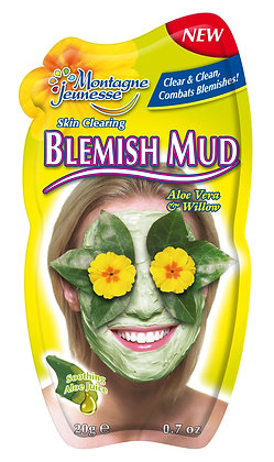 Montagne Jeunesse Aloe Vera & Willow Anti Blemish Mud Mask
