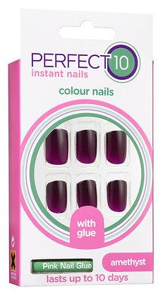 Perfect 10 Amethyst Nails