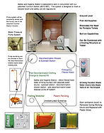 Factory or Remote Work Place Safety Shelter, Does not look like a Porta Potty,