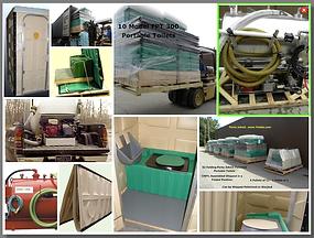 disaster, emergency, toilet, storage, assembled, preparedness