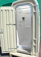 Porta Potty decontamination shower, portable, heavy duty
