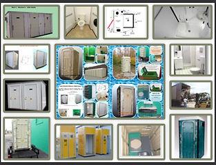 comfort station, lavatory building, folding portable toilet, trailer, ADA, shelter,
