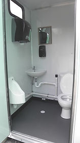 fresh water flush, no bodily fluids stored  in stall, reduced contagion exposure