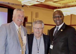 Rick Parker, Jack McGurk, & IEHA Executive Director Michael Patterson joined forces to produce a stellar conference.