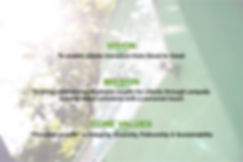 Fitco's Vision Mission & Core Values. Gr