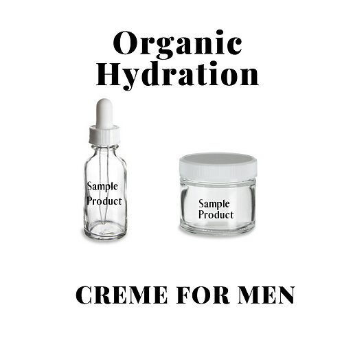 ORGANIC HYDRATION CREME FOR MEN