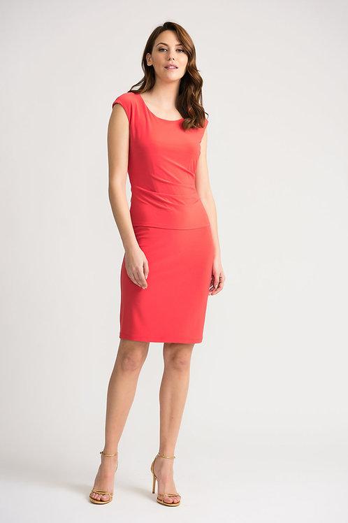 Joseph Ribkoff *Hyper Pink Dress #202451