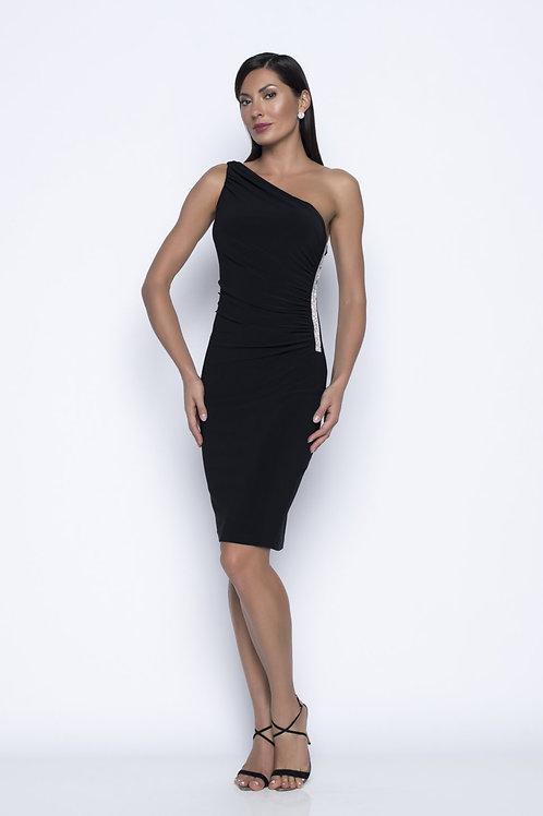 Frank Lyman Black/Silver Dress  #208014