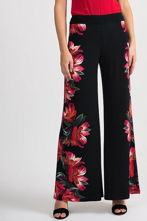 Pantalon Noir/Multi Joseph Ribkoff #201358