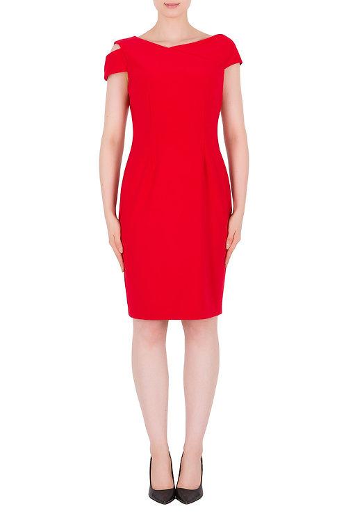 Joseph Ribkoff Red Dress #191044