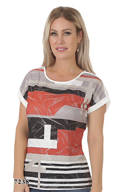 Ness Off White/Black/Multi Top Style N87238