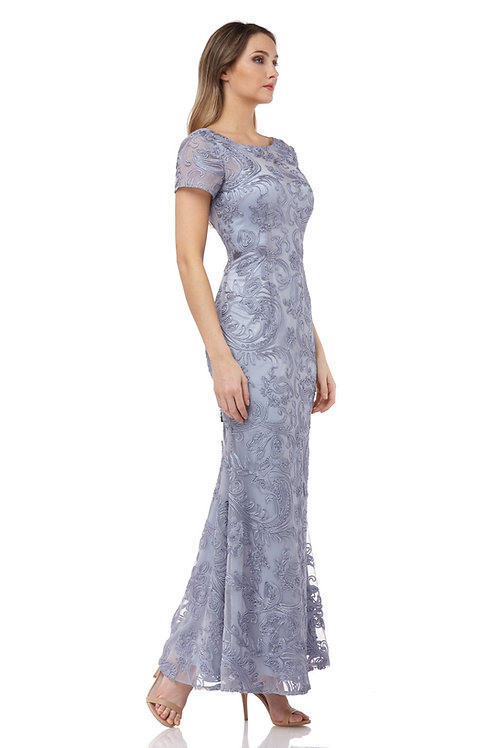 JS Blue Slate Long Dress #866507