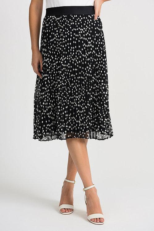 Joseph Ribkoff Black/Vanilla Skirt #201255