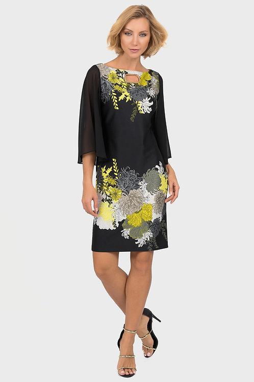 Joseph Ribkoff Black/Multi Dress #191706