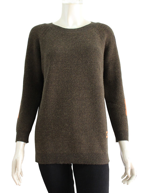 San Lodo Olive Sweater Style 93488