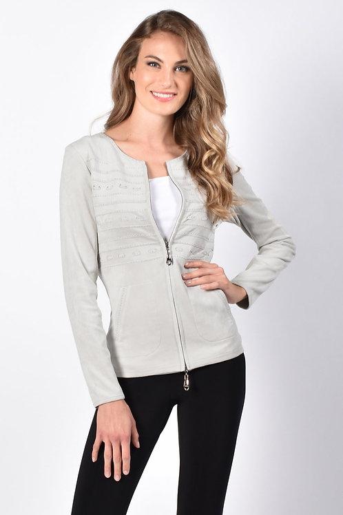 Frank Lyman Light Grey Vest Style 216104U