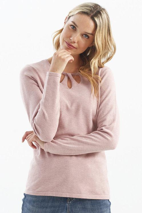 Charlie B Pink Light Sweater Style C2293