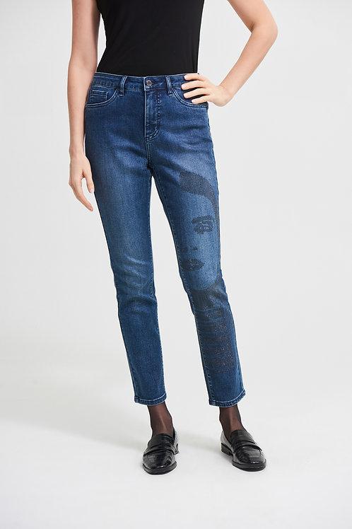 Joseph Ribkoff Medium Blue Jeans Style 213973