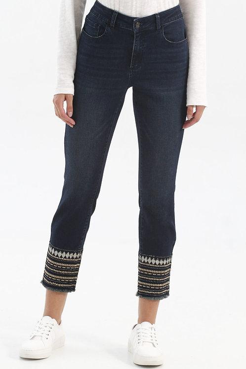 Charlie B Dark Blue Jeans Style C5237