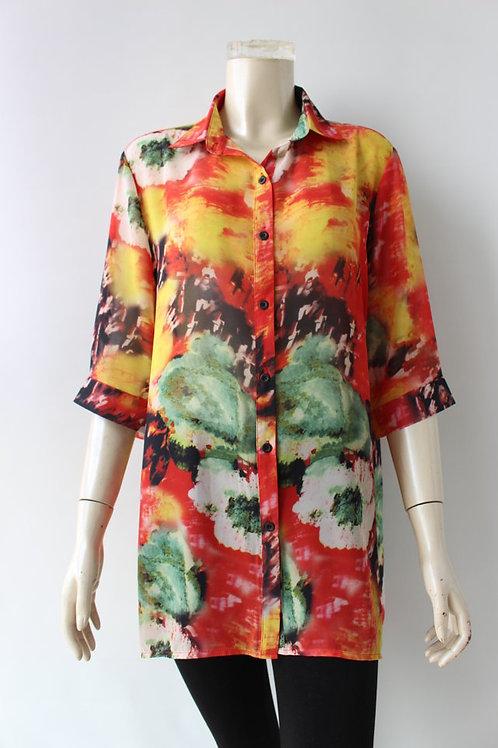 Vena Multi Blouse Style 20056