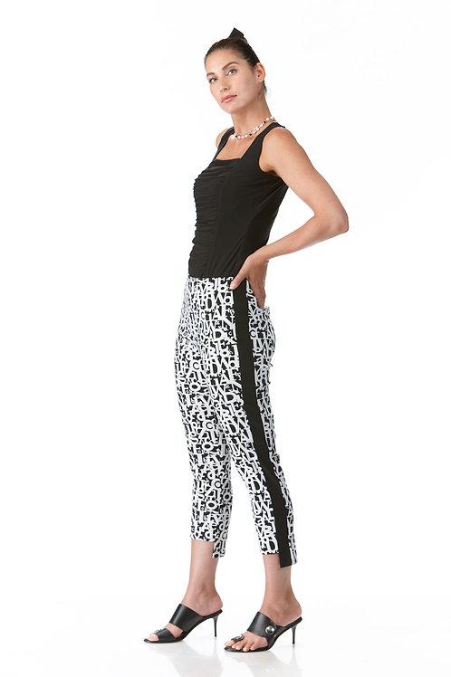 Crystal Black/White Capri Style 2901