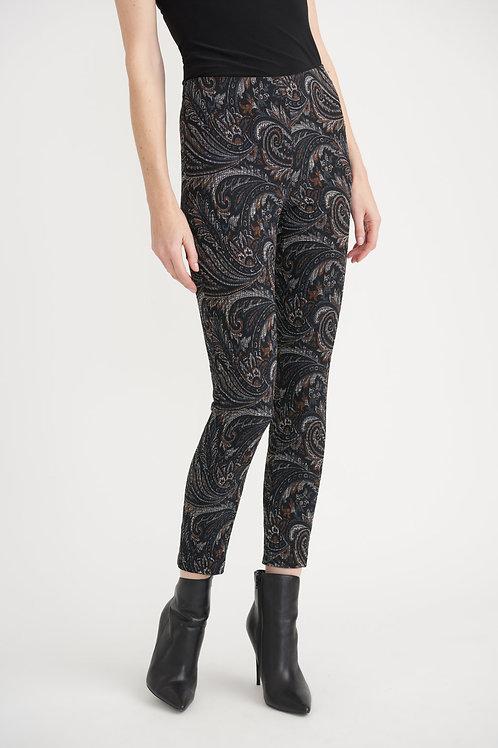 Joseph Ribkoff Black/Multi Pants Style 203341