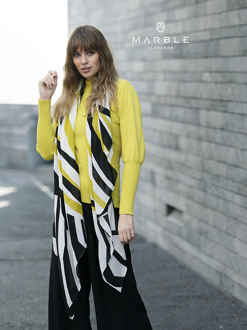 Marble Lime Sweater Style 5813