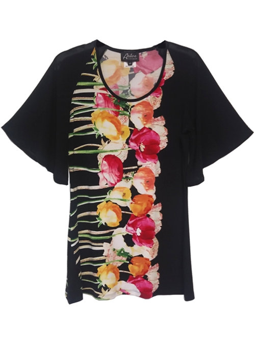 Artex Black/Multi Tunic #187577